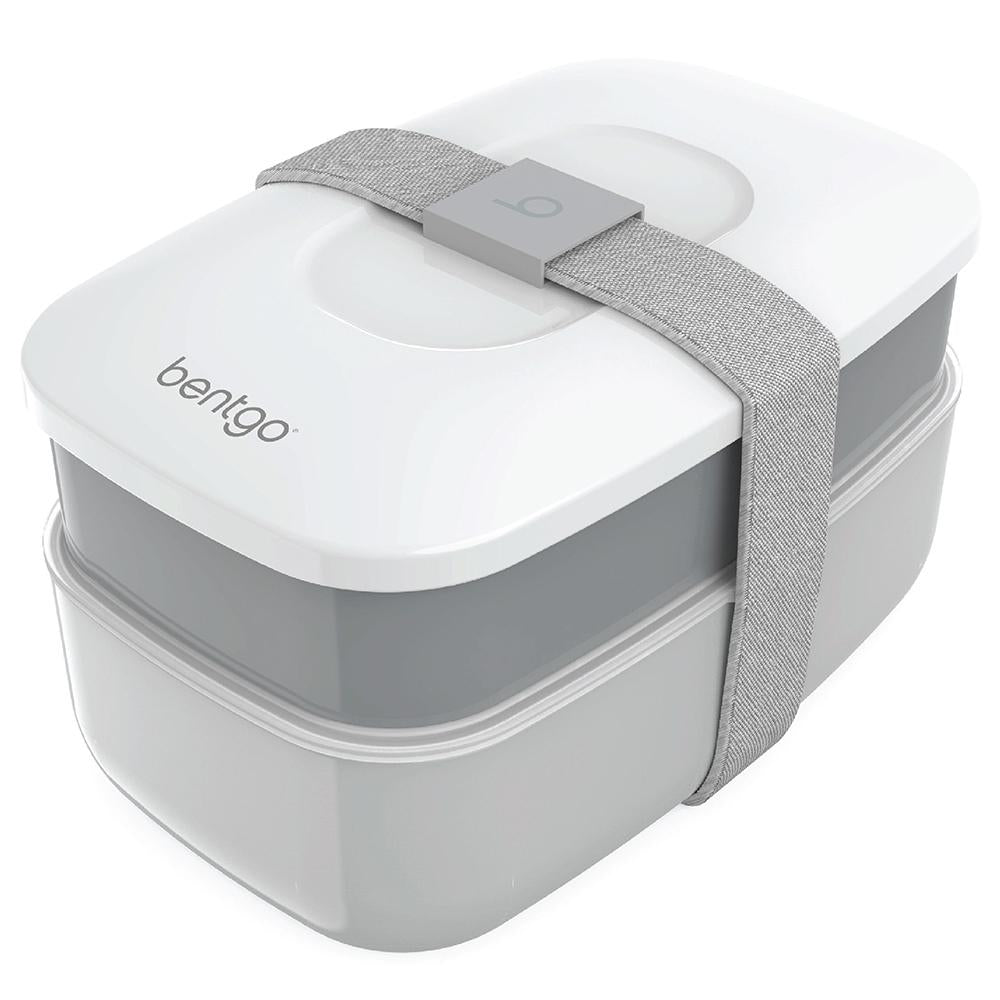 Bentgo Classic Two Tier Lunch Box - Grey BENTGO-Y