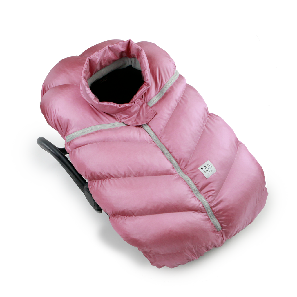 7 AM Enfant Car Seat Cocoon - Metallic Lilac (CSC-MLI)