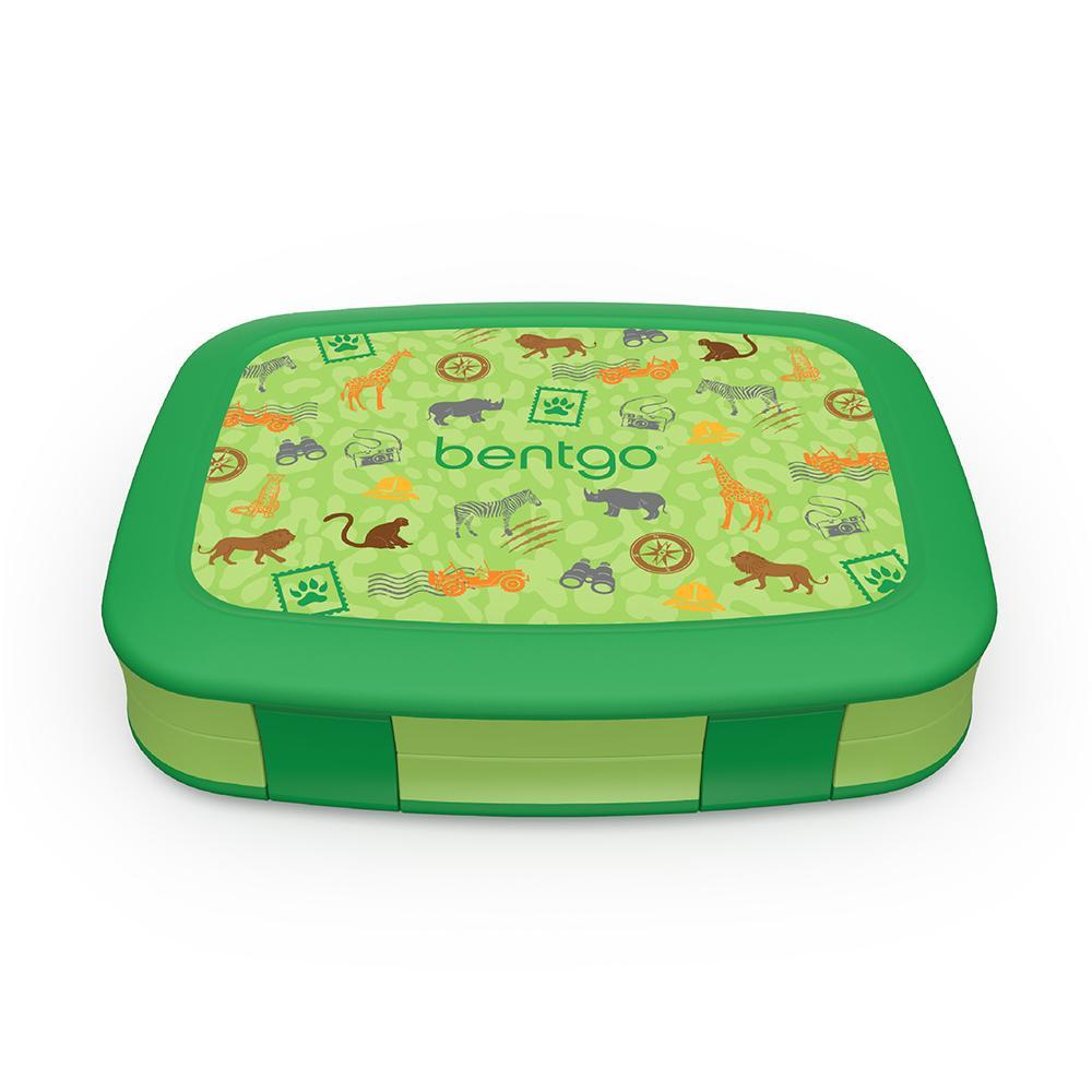 Bentgo Kids Prints Bento Lunch Box - Safari BGKDPT-SAF