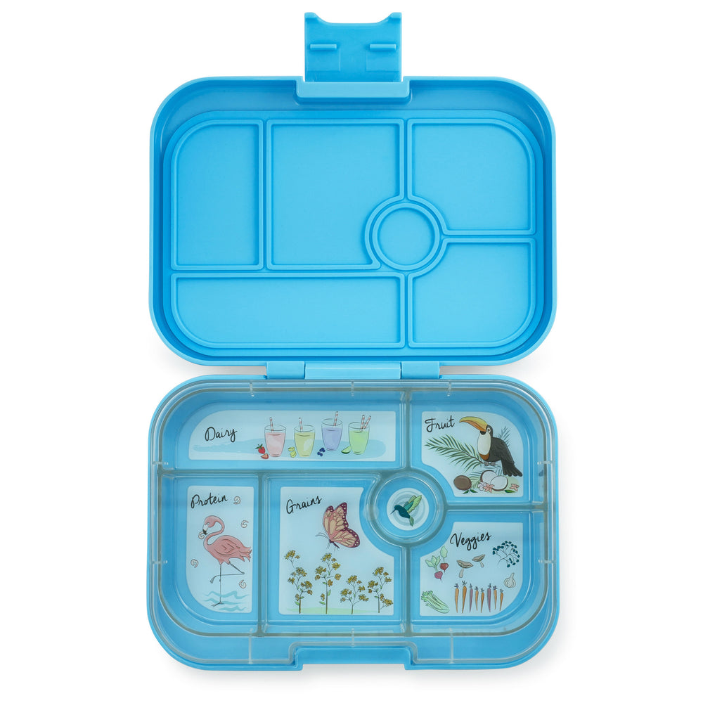 Yumbox Original 6 Compartment Nevis Blue