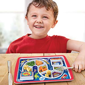 Fred & Friends Dinner Winner Kids Plate - Superhero Plate