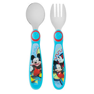 The First Years Disney Easy Grasp Flatware Mickey