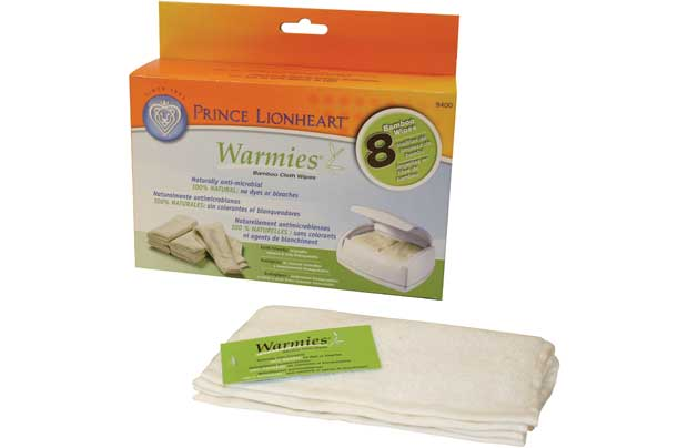 Prince Lionheart Reusable Warmies Cloth Wipes 8pk
