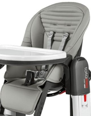 Peg Perego Replacement Seat Cover for Tatamia - Grey
