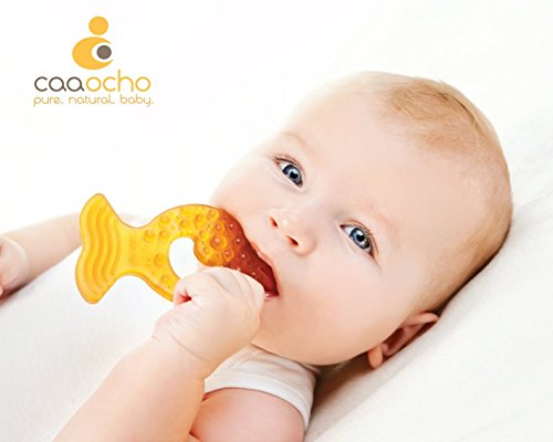 Caaocho Baby All Stages Teether in Fish