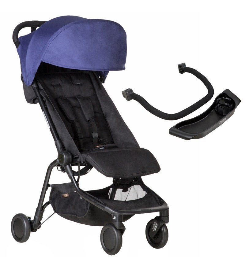 Mountain Buggy Nano Travel Stroller Nautical V2