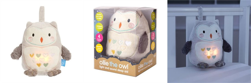 Gro Ollie the Owl Light and Sound Sleep Aid AKC0030