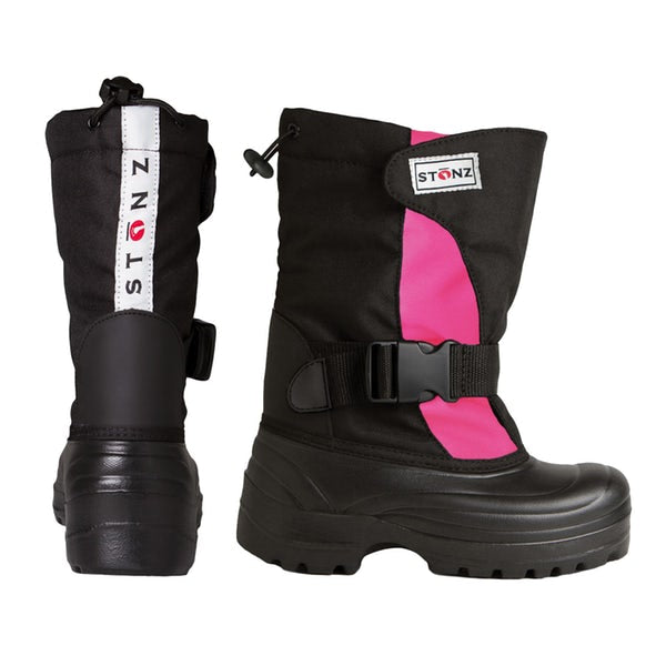 Stonz Winter Boots Trek - Pink/Black