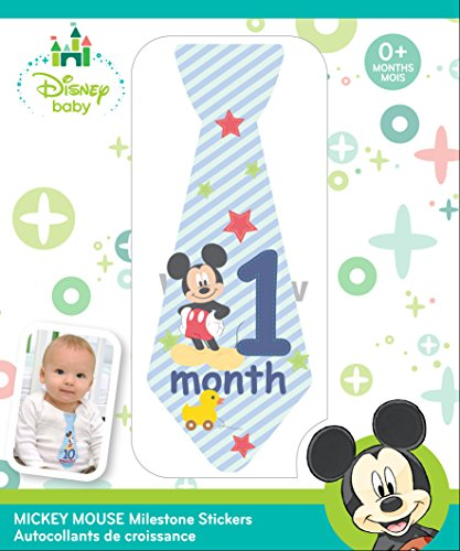 Disney Baby Mickey Mouse Milestone Stickers Ties 79716