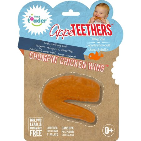 Little Toader Appe Teethers Chompin' Chicken Wing