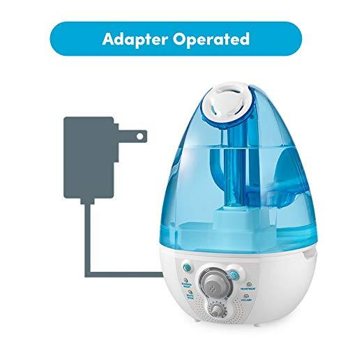 HoMedics MyBaby Ultrasonic Humidifier with Built-In Sound Spa