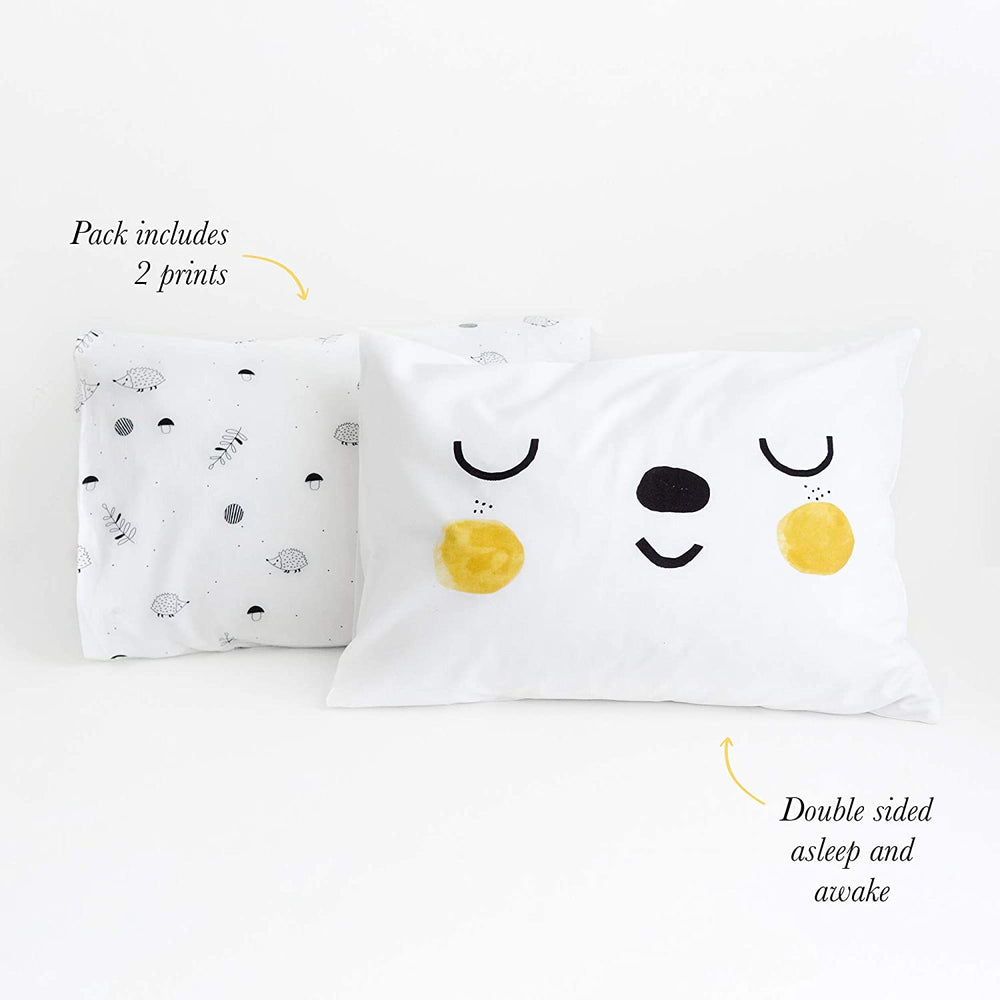 Rookie Humans Toddler Pillowcases - Woodland Dreams 2pk