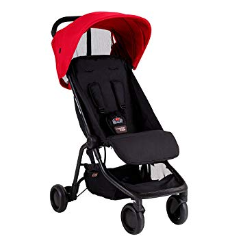 Mountain Buggy Nano Travel Stroller Ruby V2