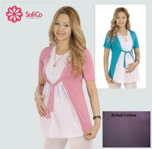 Sofi Co Blouse - Purple S