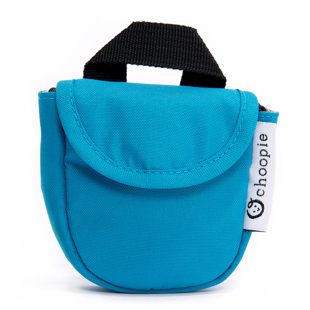 Choopie CityPocket Pacifier Pocket Bag - Blue