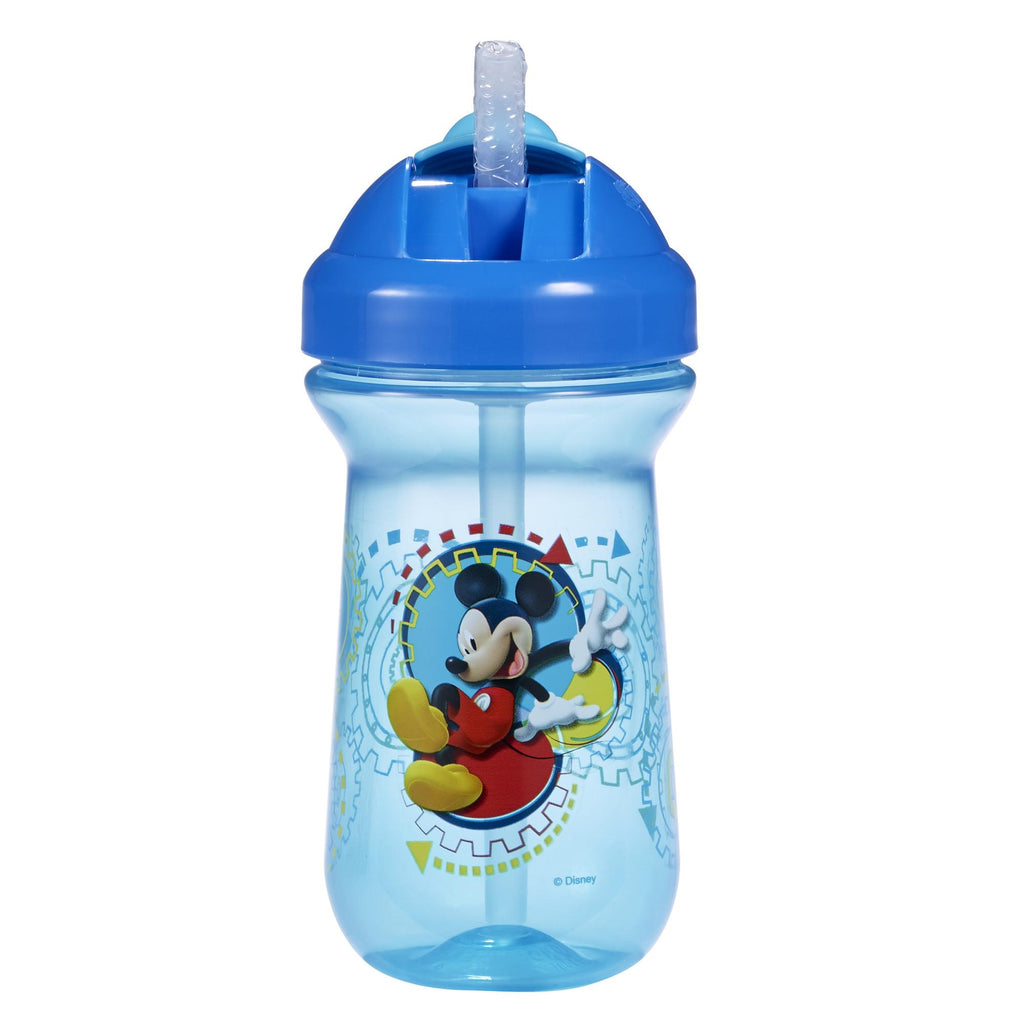 The First Years Flip Top Straw Mickey
