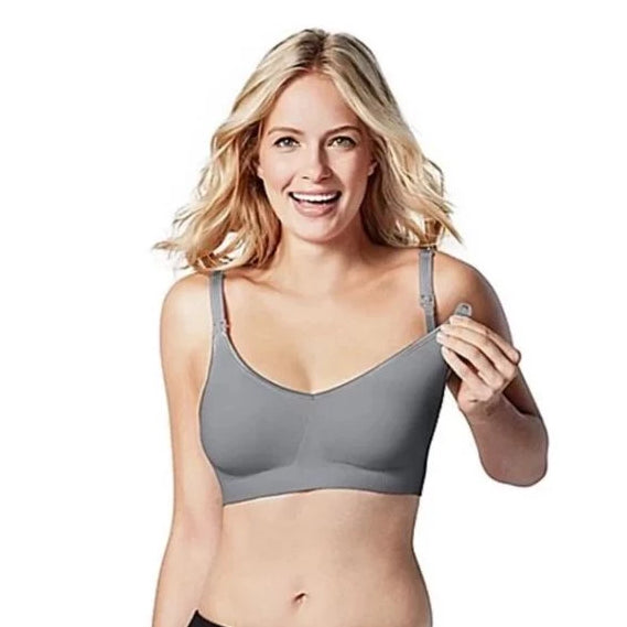 Bravado Body Silk Seamless Nursing Bra Silver Belle