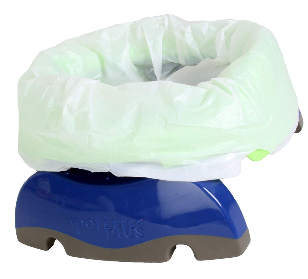Potette 2 in 1  Plus Travel Potty - Blue
