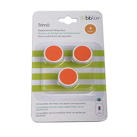 Bbluv Trimo Replacement Discs Orange (12m+) B0160