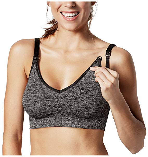 Bravado Seamless Yoga Charcoal Heather