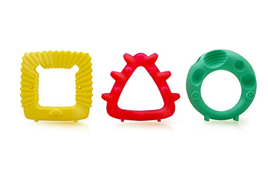 Mombella Educational Geometry Animal Teethers 20055