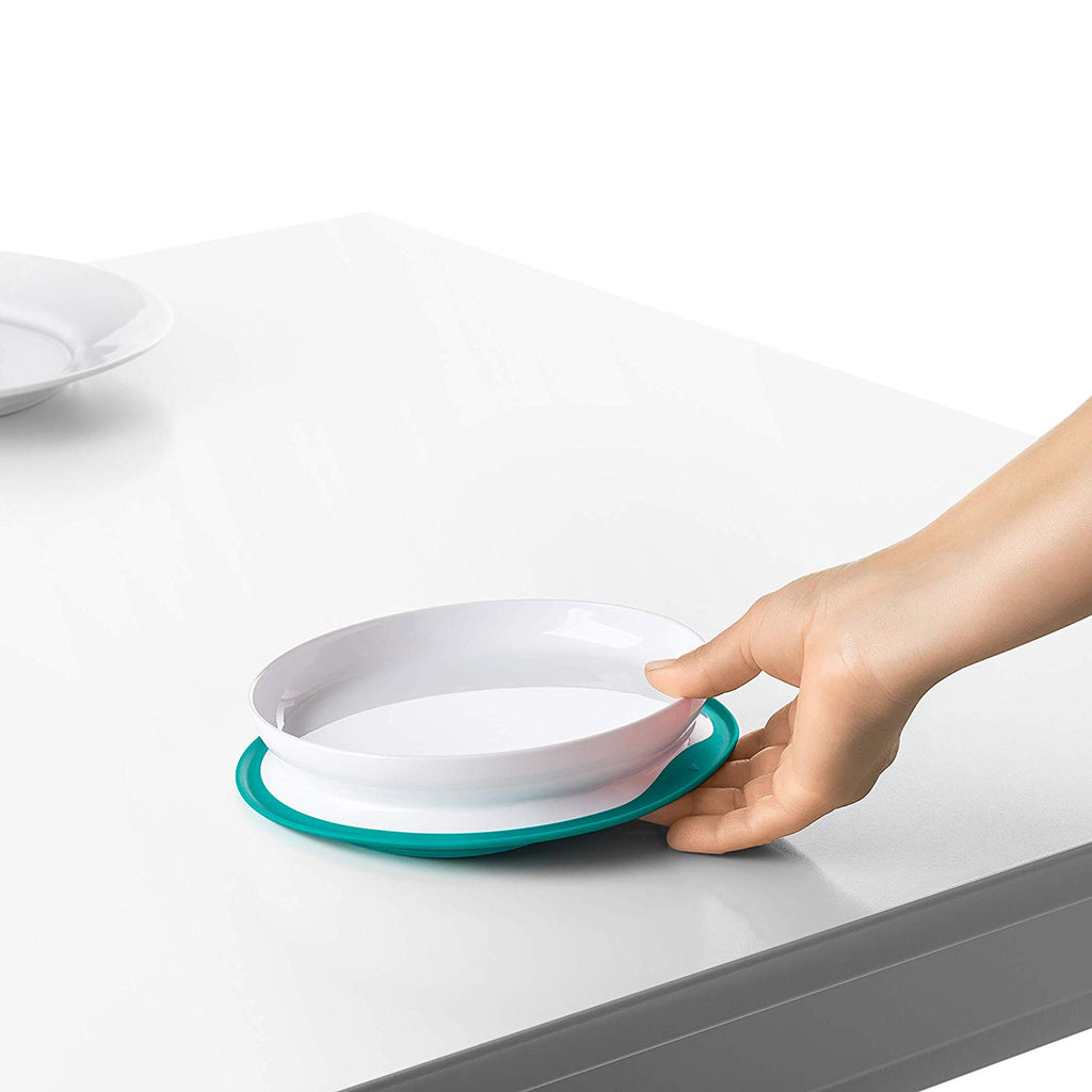 Oxo Stick & Stay Plate Teal 61120900 !