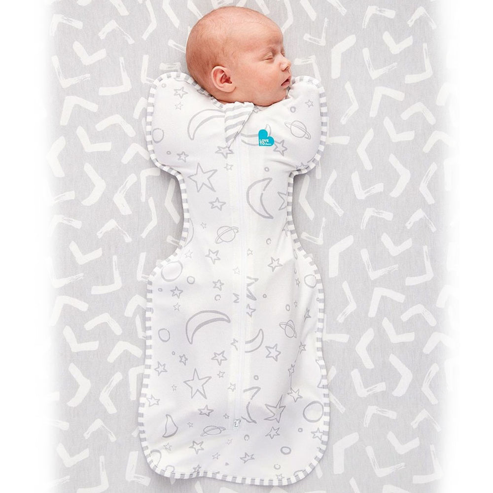 Love To Dream Swaddle Up™ SILKY-LUX Bamboo Swaddle Bag 1.0 TOG - Gray