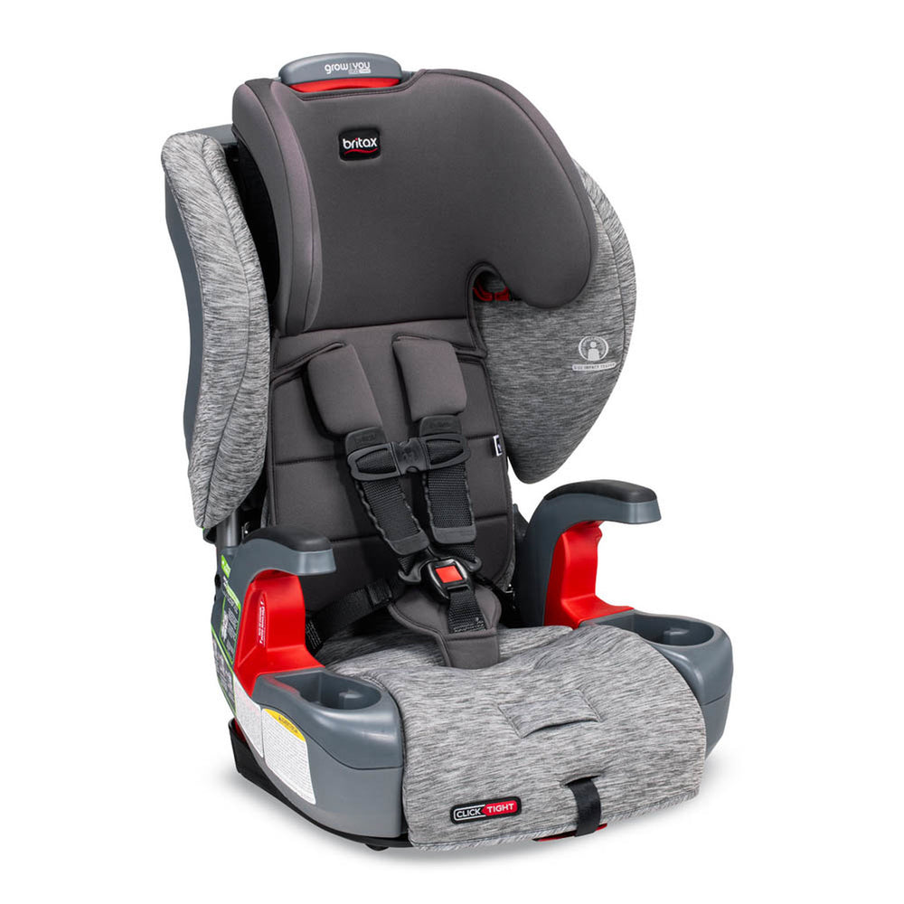 Britax Grow with you Click Tight Harness 2 Booster Asher