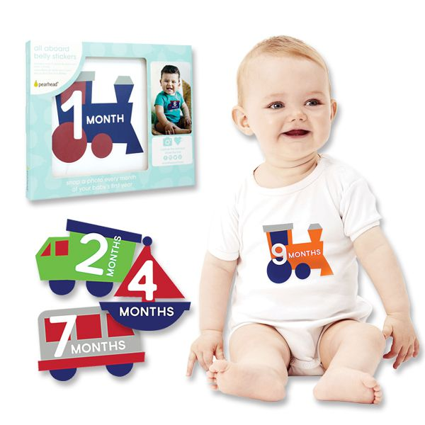 Pear Head All Aboard Belly Stickers PH-73012