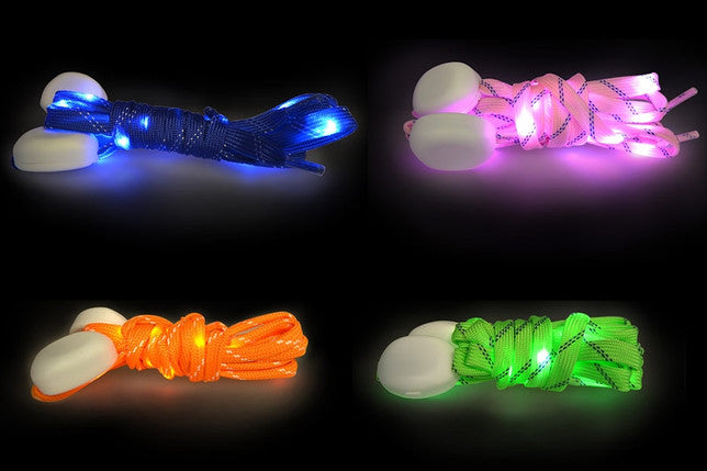 4id Power Laces Light Up Shoelaces with Batteries