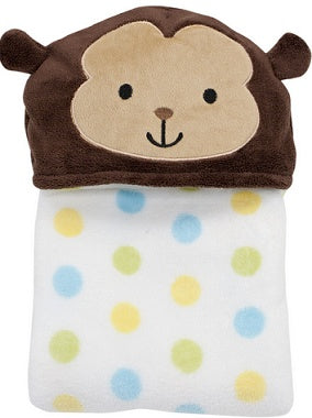 Bedtime Originals Hooded Blanket - Curly Tails