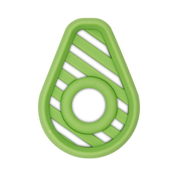 Itzy Ritzy Silicone Baby Teether Avocado SLT8327