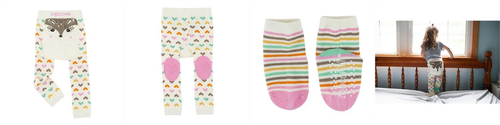 Zoocchini Legging & Sock Set Fawn ZOO513