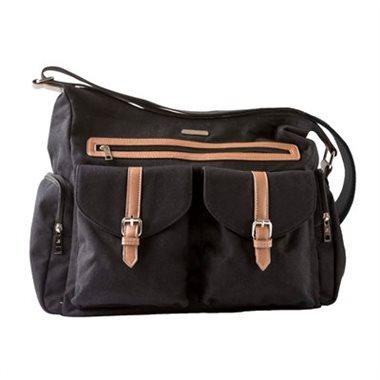 Little Unicorn Rambler Satchel Diaper Bag-Obsidian