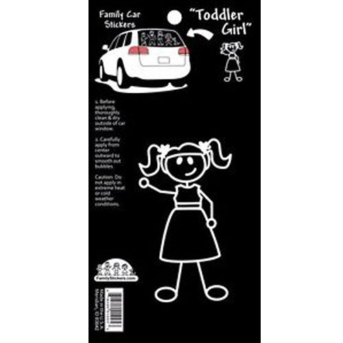 Family Stickers Toddler Girl