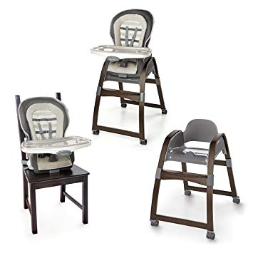 Ingenuity 3-in-1 Wood High Chair - Tristan