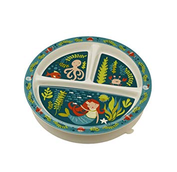 Sugarbooger Plate Divided Suction Base Isla the Mermaid