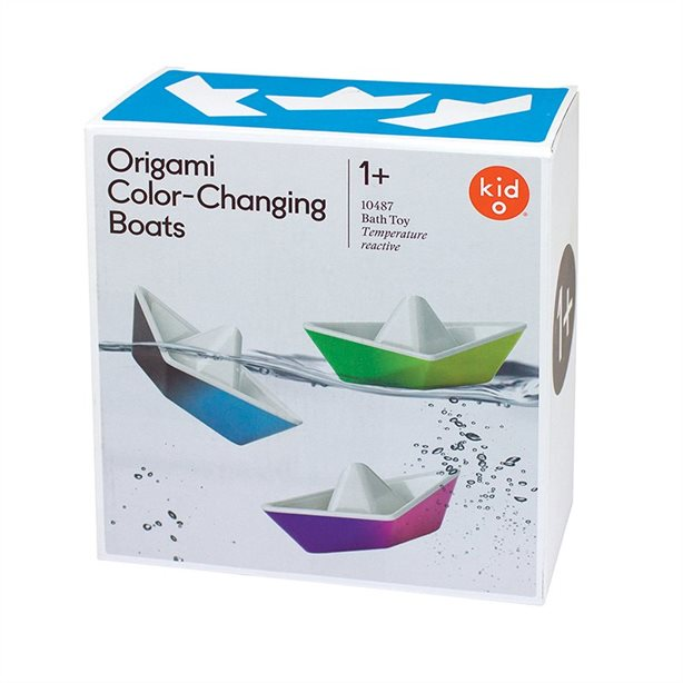 Kido Origami Color Changing Boats K10487