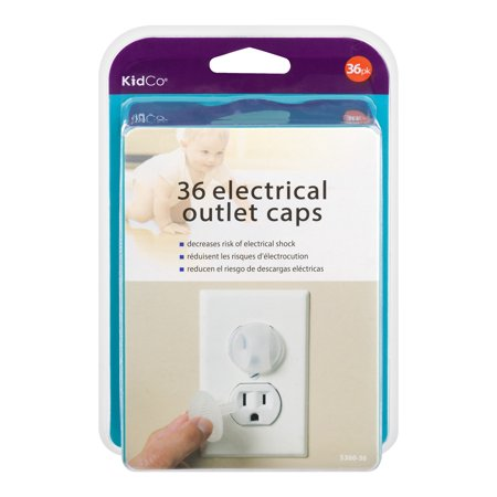 Kidco Electrical Outlet Caps 36pk S360-36