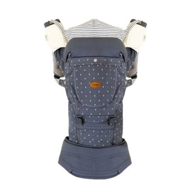I-ANGEL MIRACLE HIPSEAT + BABY CARRIER - STONE BLUE