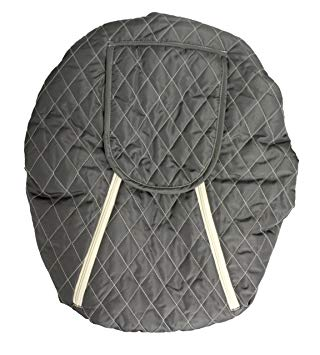 Mint Marshmallow Seat Cover Slate Grey