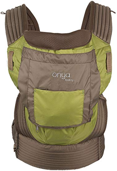 Onya Baby Outback Baby Carrier - Chocolate Chip/Olive Green