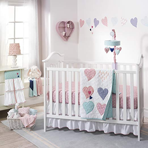 Lambs & Ivy Crib Set Felicity 4pc