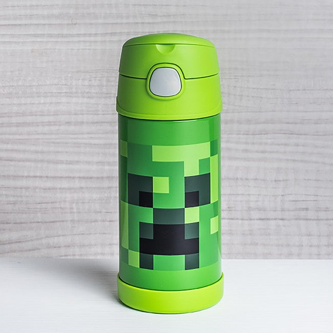 Thermos Funtainer Straw Bottle Minecraft