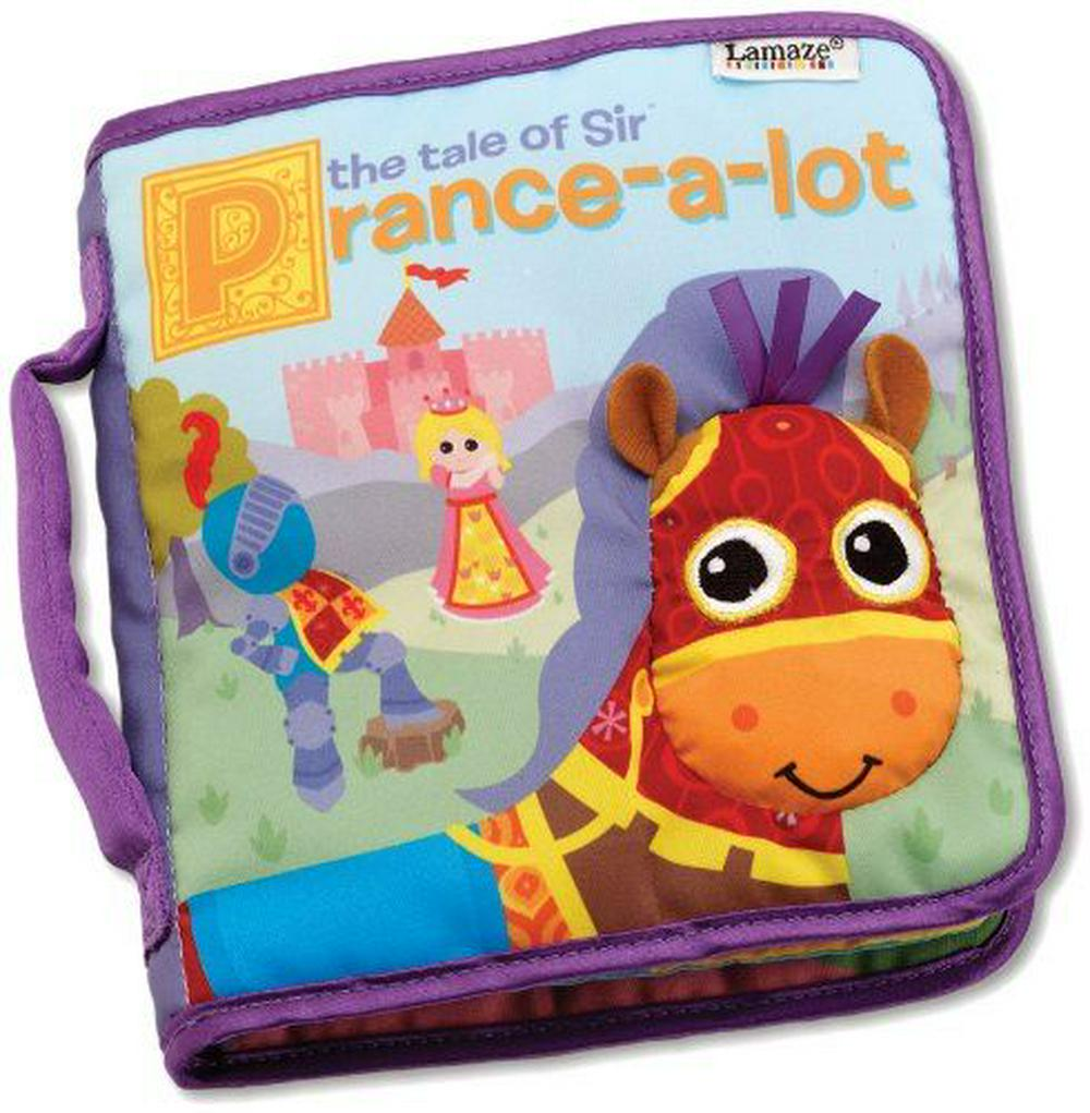 Lamaze The Tale of Sir Prance-a-lot book