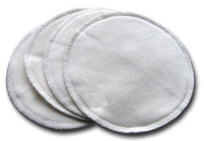 Apple Cheeks Leakproof Washable Bamboo Nursing Pads 6pk - Storm