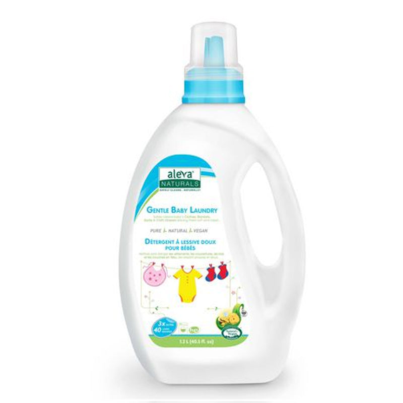 Aleva Naturals Gentle Baby Laundry Fragrance Free 1.2L