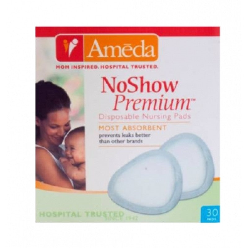 Ameda Noshow Premium One-use Breast Pads 30 Pack