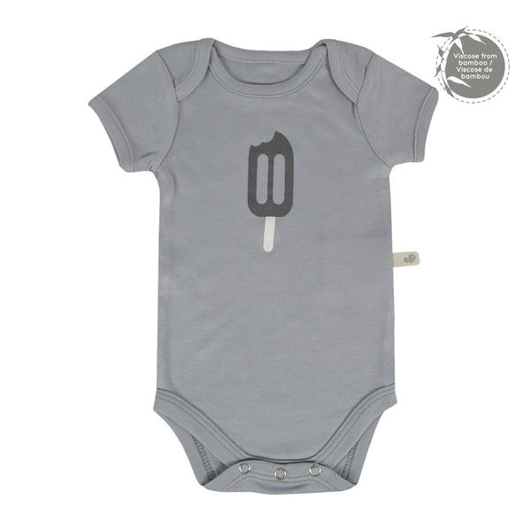 Perlim Pin Pin Bamboo Onesie Short Souris Popsicle BB22603