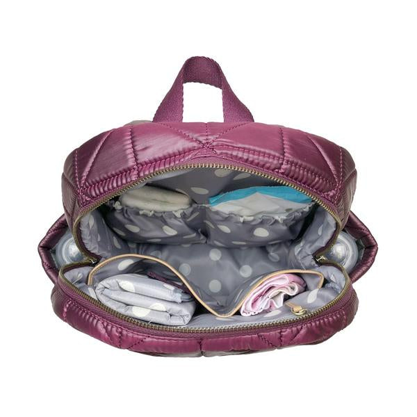 Twelve Little Companion Diaper Bag Backpack - Wine